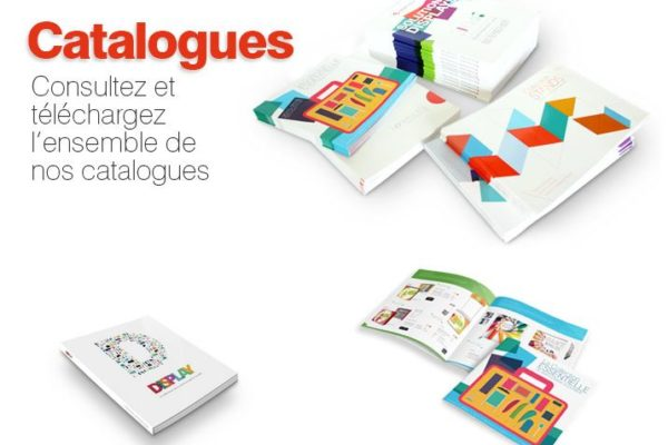 catalogue display et stand