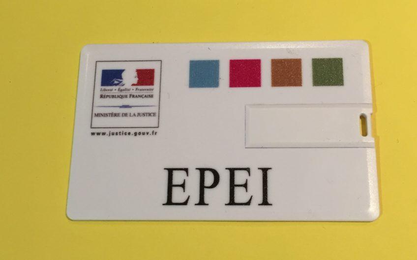 Carte de visite USB EPEI