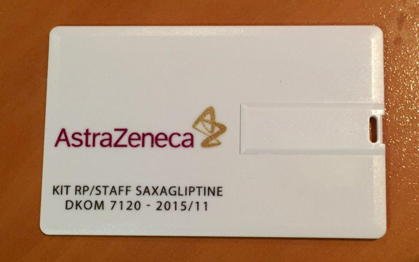 Crate de Crédit USB AstraZeneca