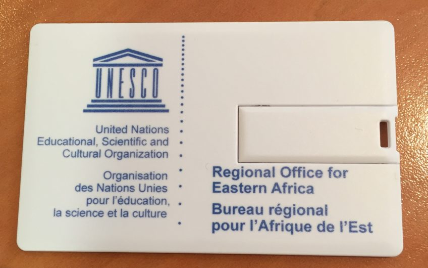 Carte de visite USB Unesco