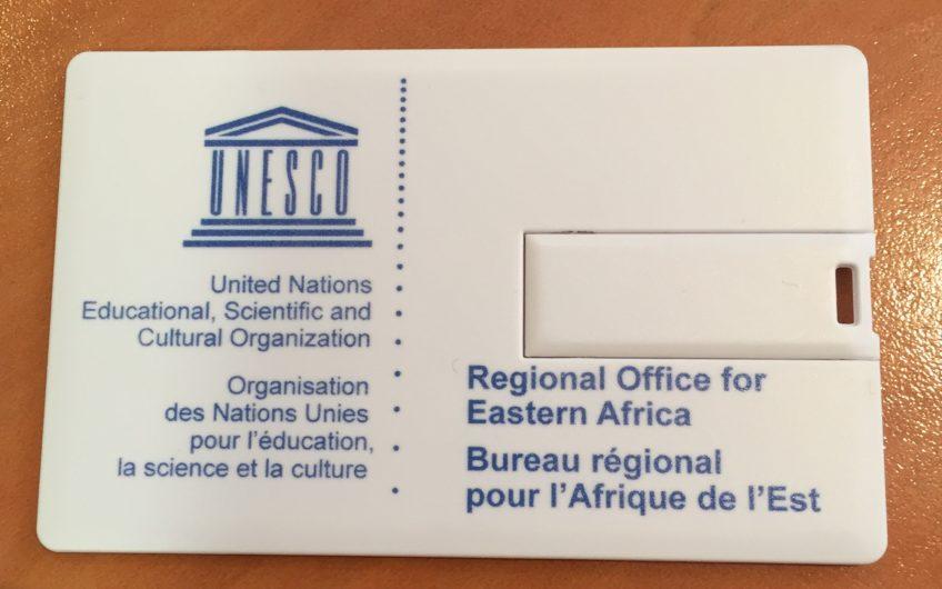 Carte De Visite USB Unesco