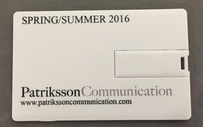 Carte De Visite USB Patriksson Communication