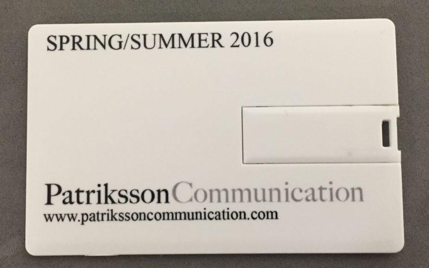 carte de visite USB Patriksson Communication