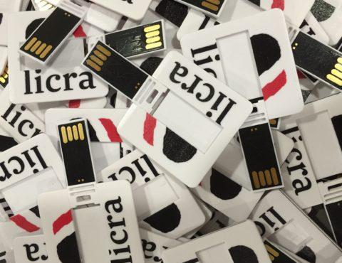 Clés USB carrées LICRA