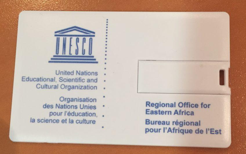 clé USB carte de visite Unesco
