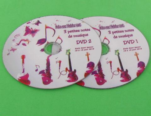 DVD – 3 petites notes de musique