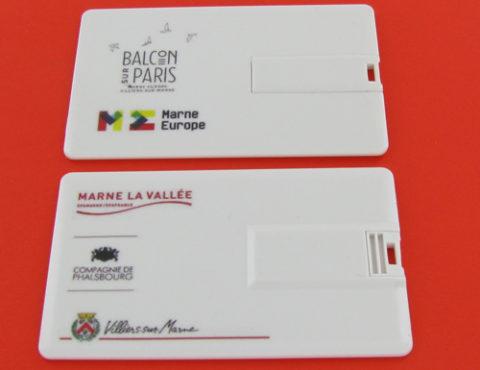 Cartes de visite Balcon sur Paris