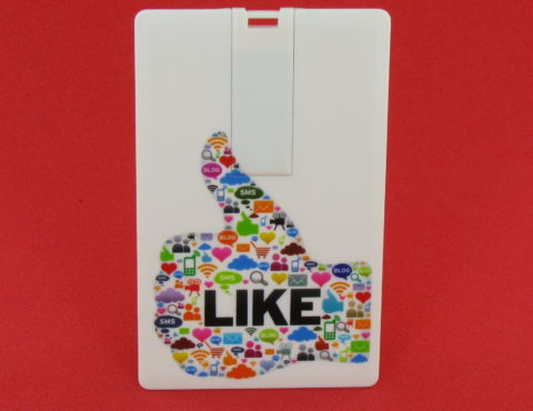 Carte de visite USB – Like