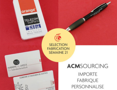 Selection fabrication semaine 21