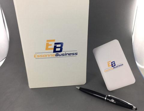 Bunddle de lancement Calepin, stylo et powerbank