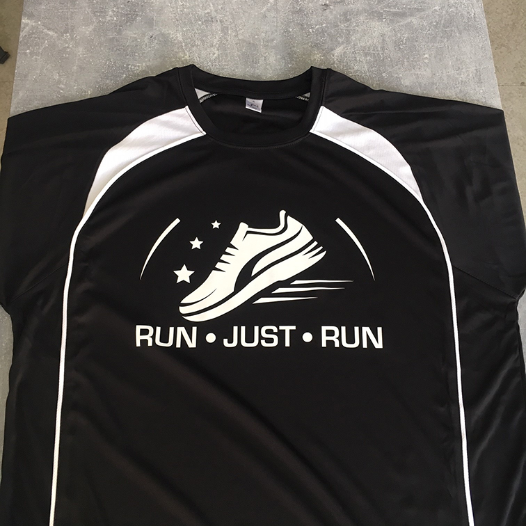 T-SHIRT Run Just Run