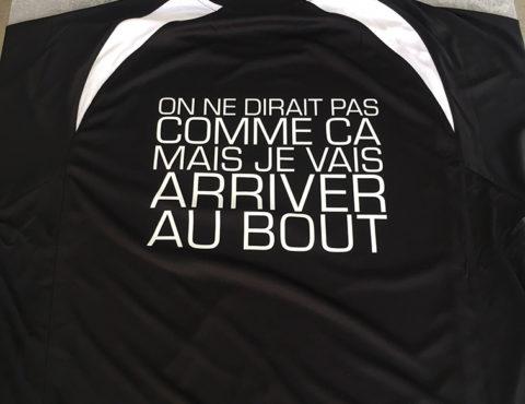 T-Shirt de sport imprimé