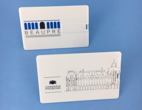 Cartes de visite USB BEAUPRE