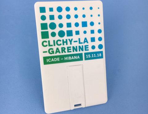 Carte de visite USB Clichy-La-Garenne