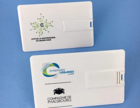 Cartes de visite USB