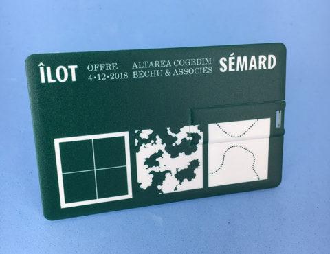 Carte de visite USB Îlot Sémard