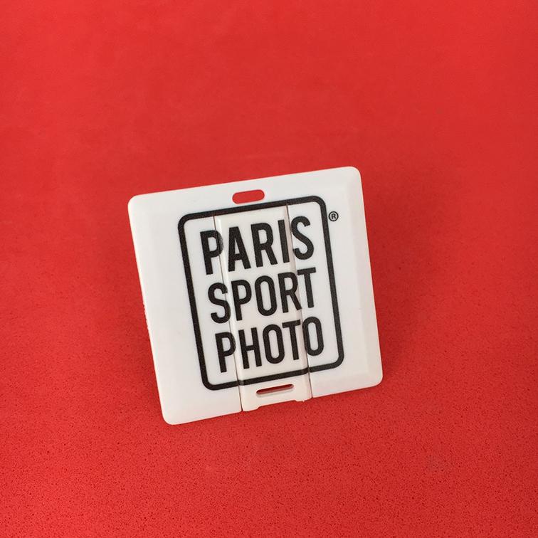 Carte de visite USB Paris Sport Photo