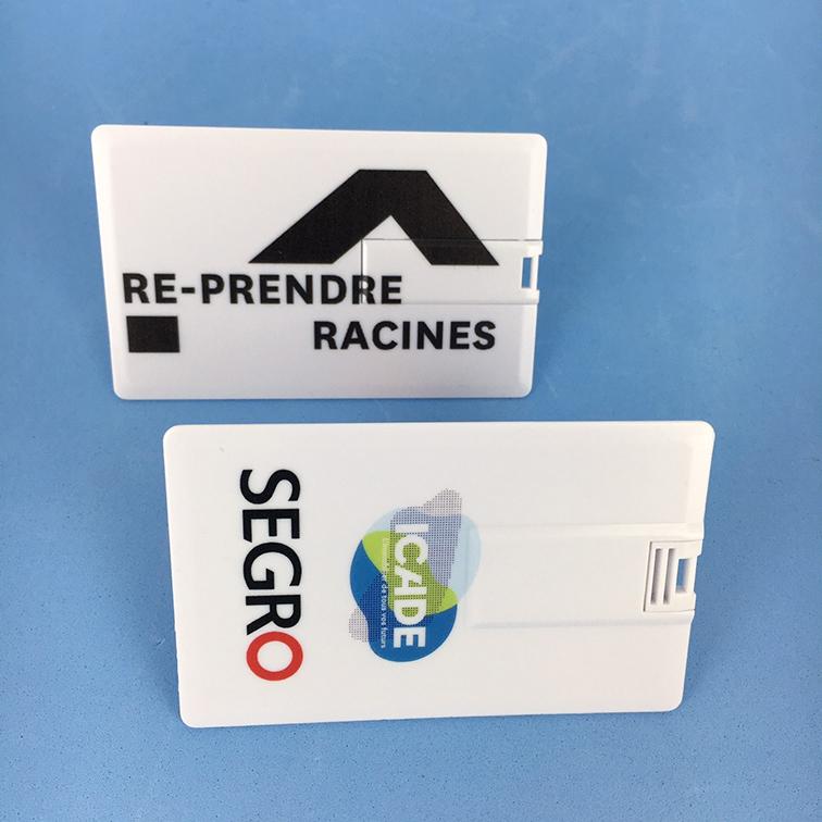 clé usb carte de visite imprimée SEGPRO