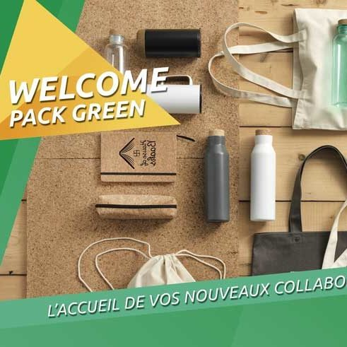 Bienvenue : le Welcome Pack Green !