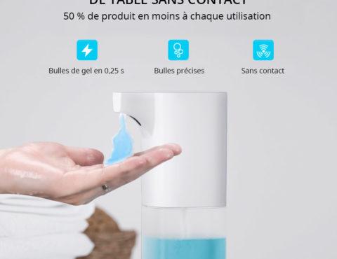 Distributeur de gel hydro-alcoolique automatique