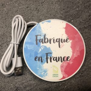 Chargeur induction Made in France