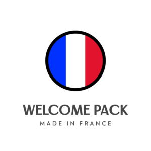 Logo Welcome pack made in France