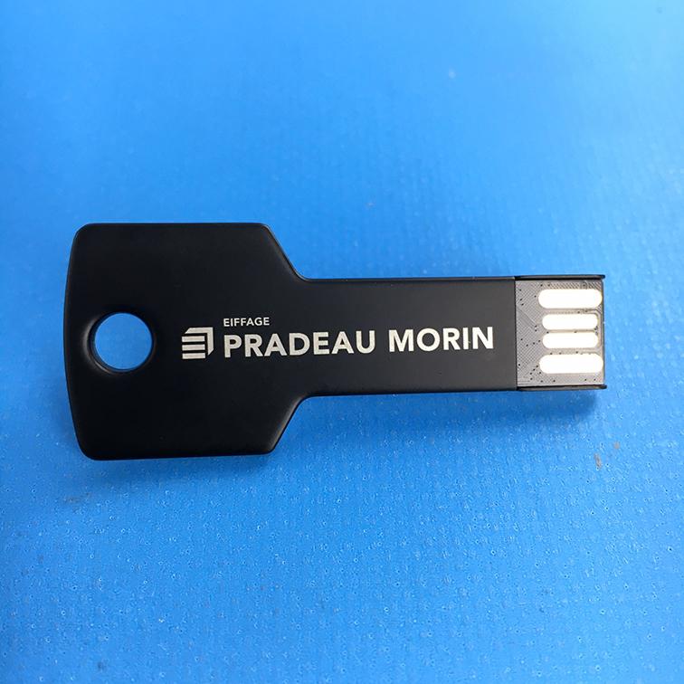 Clé USB gravure laser Pradeau Morin
